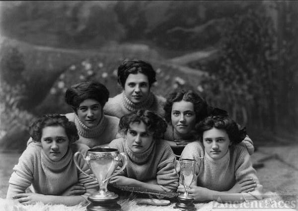 Champion girls basketball team of Kansas