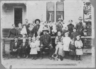 Martin & Josephine Ingram Family, Oklahoma 1914