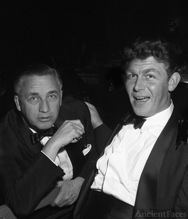 Mervyn LeRoy and Andy Griffith