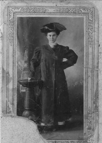 A photo of Annie Pearl (Christopher) Cobb