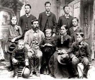 John, Mary Carl & family