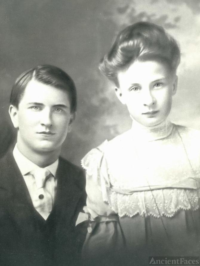 Arthur and Dorothea Bertram Heidke