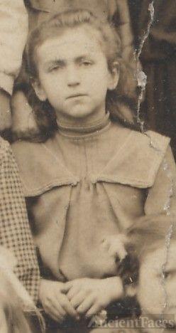 Helena Phillips, school girl