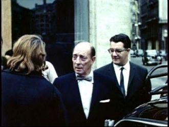 Raymond Rohauer and Buster Keaton