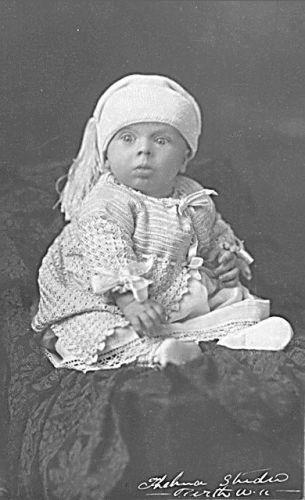 Clarice Bengough Fleay's son, Billie Fleay