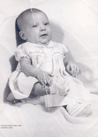 Baby photo of Pam Tuttle