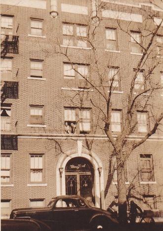 arthur and ethel martin apartment, NJ 1938