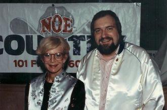 Michael Bales and Sally Jessy Raphael