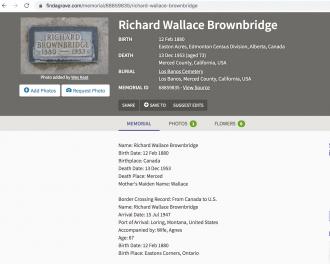 Richard Wallace Brownbridge