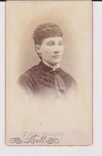 Etta Emery, Vermont