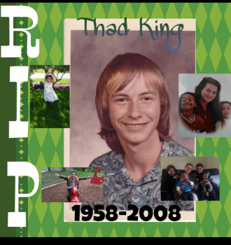 Thad T King