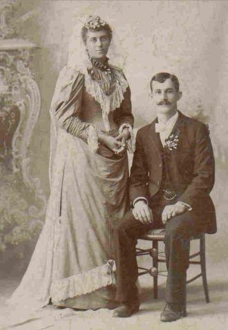 Frank & Auguste (Ulrich) Lichtenberg, 1894