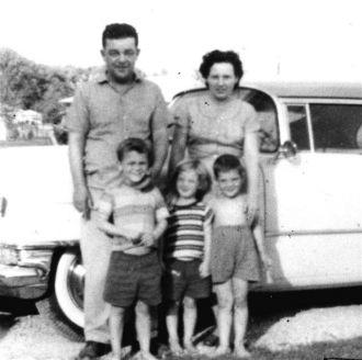 Paul Lathrop,Sr. and Family