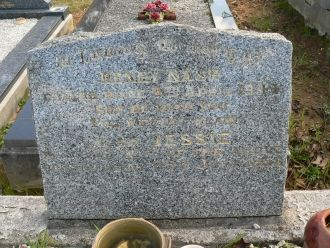 Henry Nash & Sarah Barnes Gravesite