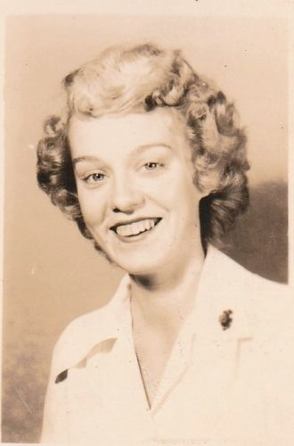 A photo of Betty (Wilcox) Steed