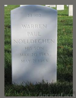 Warren Paul Noeldechen Gravesite