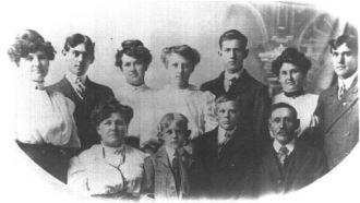 Orange Conner family of IL, MO, KS, WA