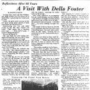 Della Jane SMEDLEY Foster's Life , Part 1