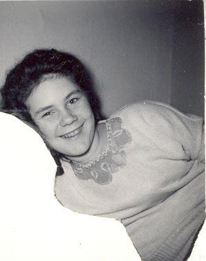 Carole Ann Nelson abt 1957