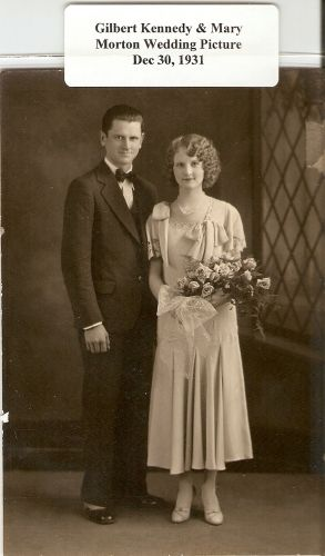 Gilbert & Mary (Morton) Kennedy