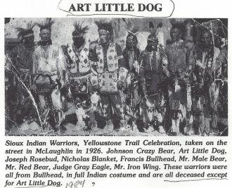Lakota on Standing Rock Reservation