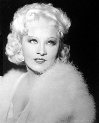 A photo of Mae West