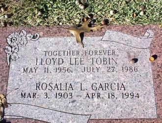 Lloyd L. Tobin Gravesite