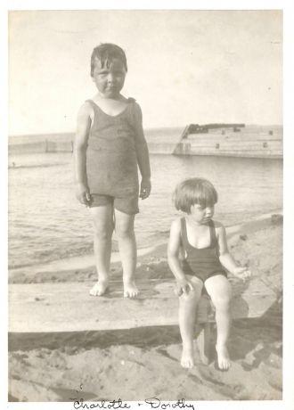 Charlotte and Dorothy Gustafson