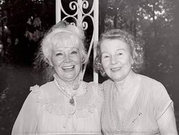 Penny Singleton and Rosina Lawrence.
