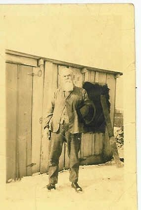 Benton Carl By His Shed