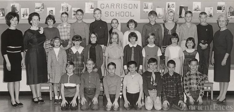 Garrison School class, 1966-67, gr 4/5, named