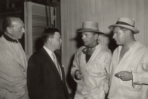 Earl Wilson, Humphrey Bogart, Peter Ustinov