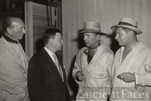 Earl Wilson, Humphrey Bogart, Peter Ustinov