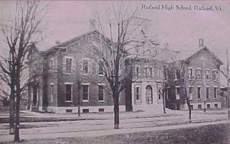 Rutland High School, Vermont