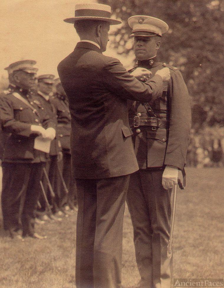 Pres. Coolidge & Gen. Schilt