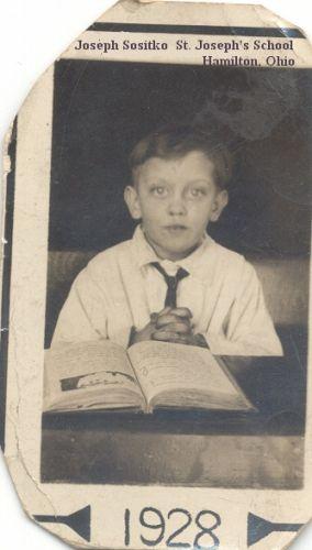 Joe Sositko at school