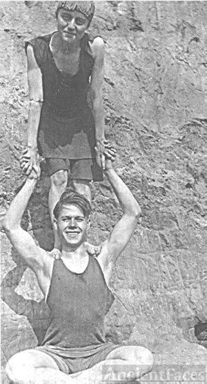 Strong man, George Benning