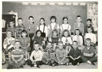 Elem. school in Lisbon Falls, ME 1963