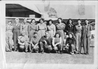Raymond Richardson Aviation Mechanics, WWII Georgia