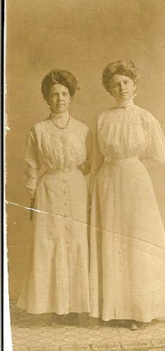 Clara Swensen and Ragna Hansen