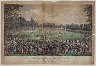 The great international Caledonian games Held at Jones...