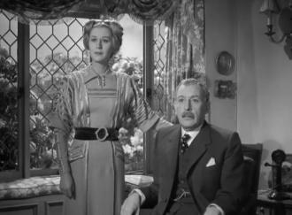 Cedric Hardwicke and Margaret Leighton