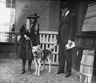 Franklin D. Roosevelt & daughter, 5/8/20