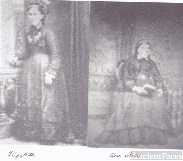 Elizabeth (Baulch) Beasley & Ann Boles