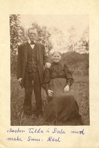 Carl and Matilda Berntsson