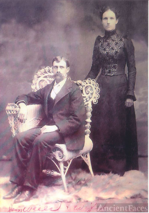 James Elisha Wells & Malinda Summers