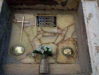 Carlos and Blanca Greco y Leonor Albornoz gravesite