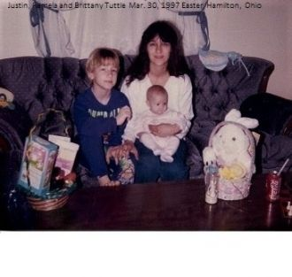 Justin, Pam and Brittany Tuttle, 1997