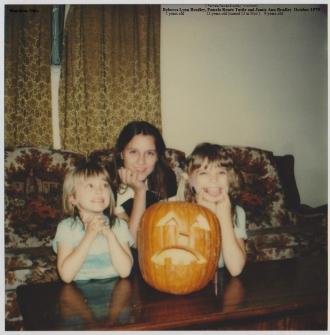 Becky, Pam and Jamie Bradley, 1979