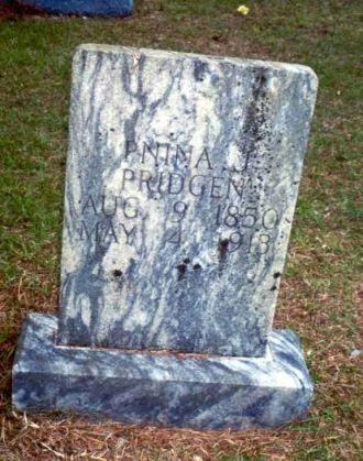 Gravestone of Pnina Freeman Jones Pridgen